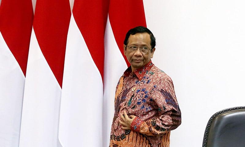 Menko Polhukam Mahfud MD. Foto: JPNN.com