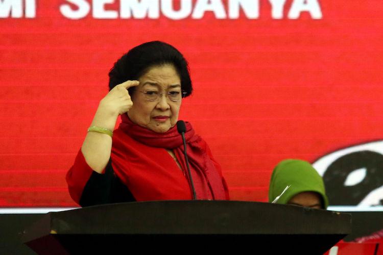 Ketum PDIP Megawati Soekarnoputri. (foto: JPNN)