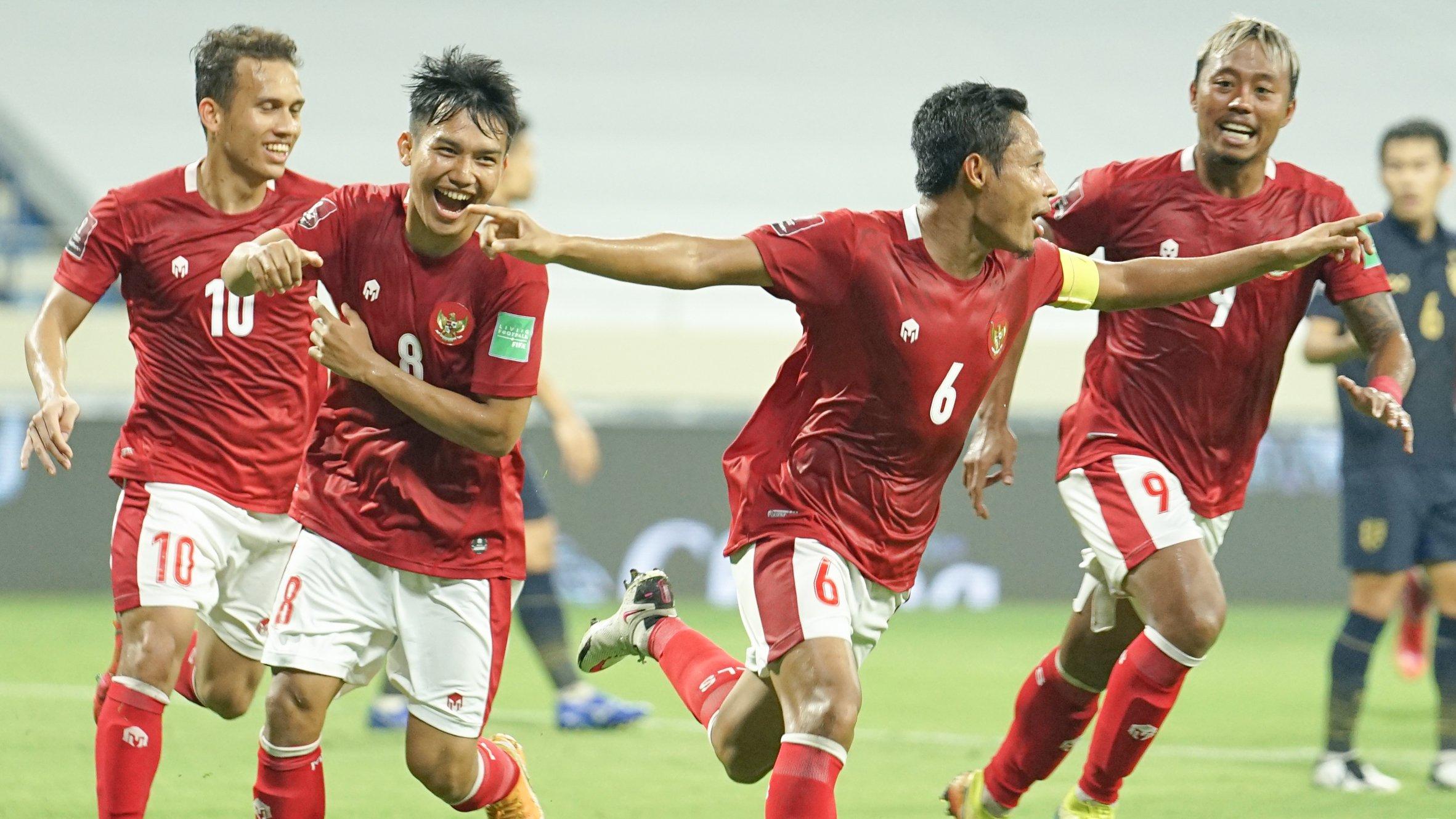 Timnas Indonesia tampil mengejutkan dengan berhasil menahan imbang Timnas Thailand dalam kualifikasi Piala Dunia 2022 Grup G. (foto: PSSI)