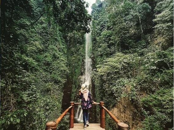 Air Terjun Putuk Truno. (Foto: Instagram@putuktruno_waterfall)