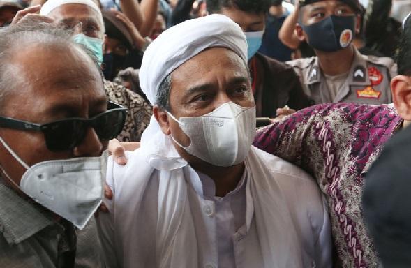 Habib Rizieq Shihab. (Foto: JPNN.com/GenPI.co)