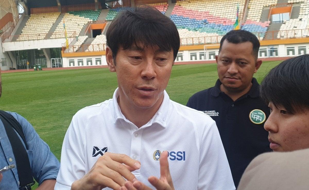Pelatih Timnas Indonesia, Shin Tae Yong. (Foto: Amjad/JPNN)