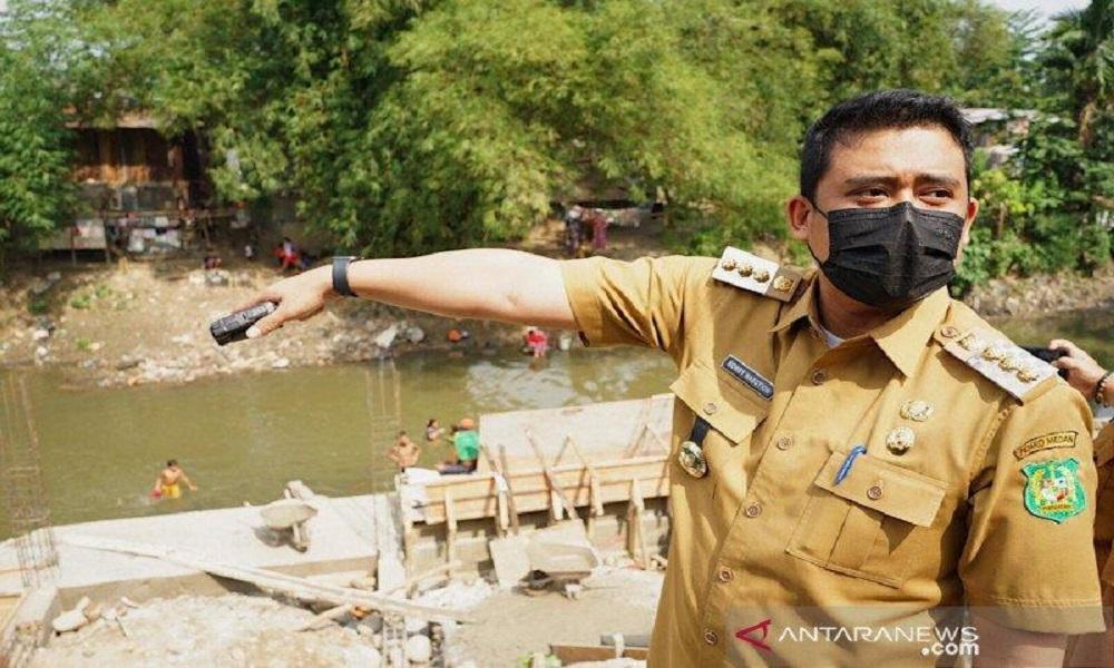 Wali Kota Medan Bobby Nasution. FOTO: Antara