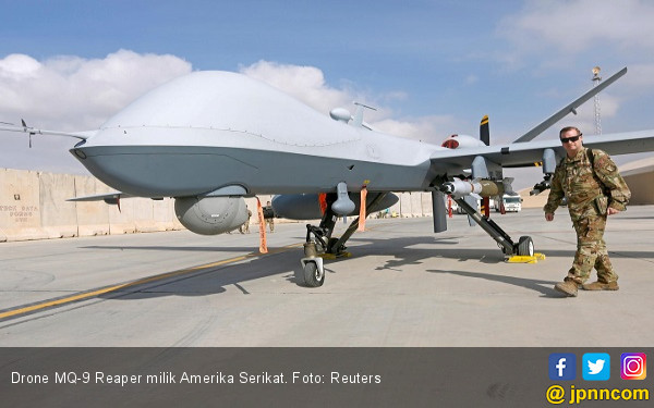Drone Amerika Serikat. Foto: JPNN.com/Reuters.