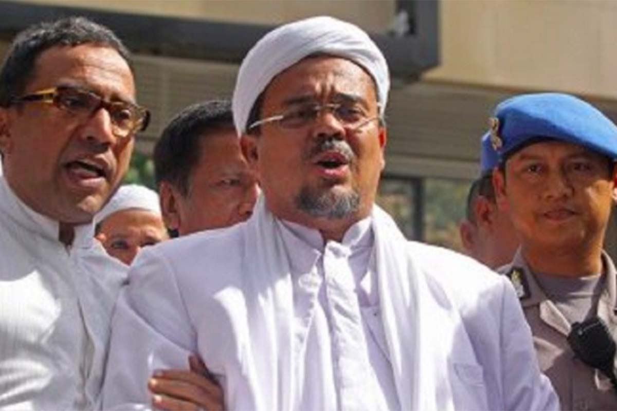 Habib Rizieq Shihab (HRS). Foto: Antara