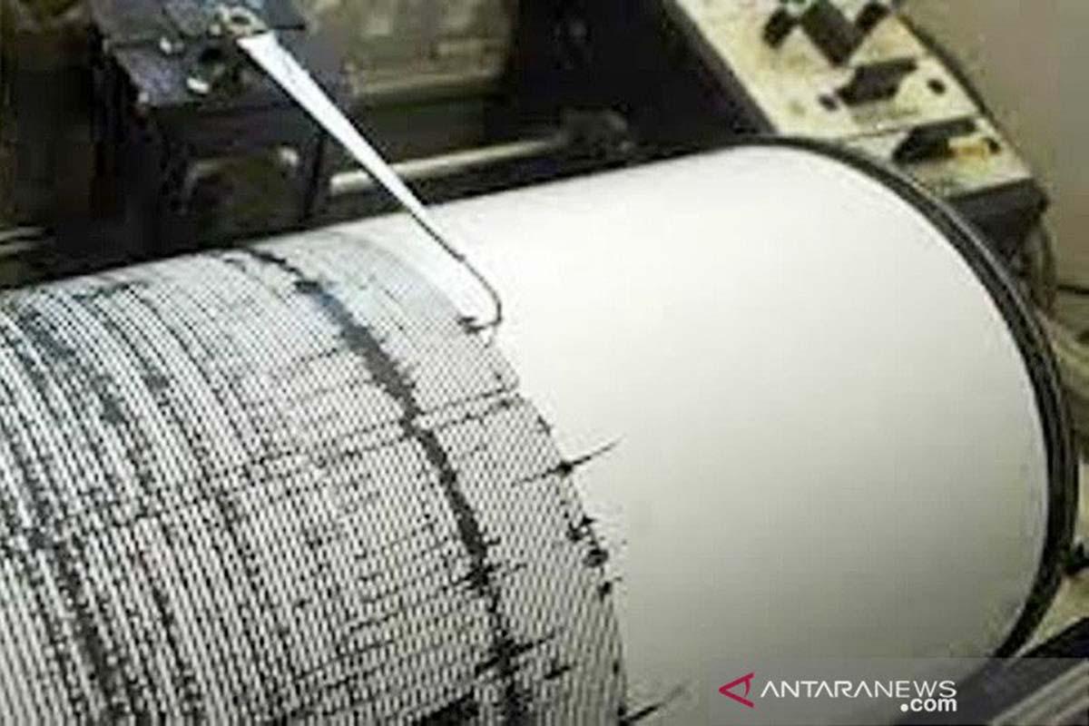 Ilustrasi – alat deteksi gempa. (Foto: Antara)