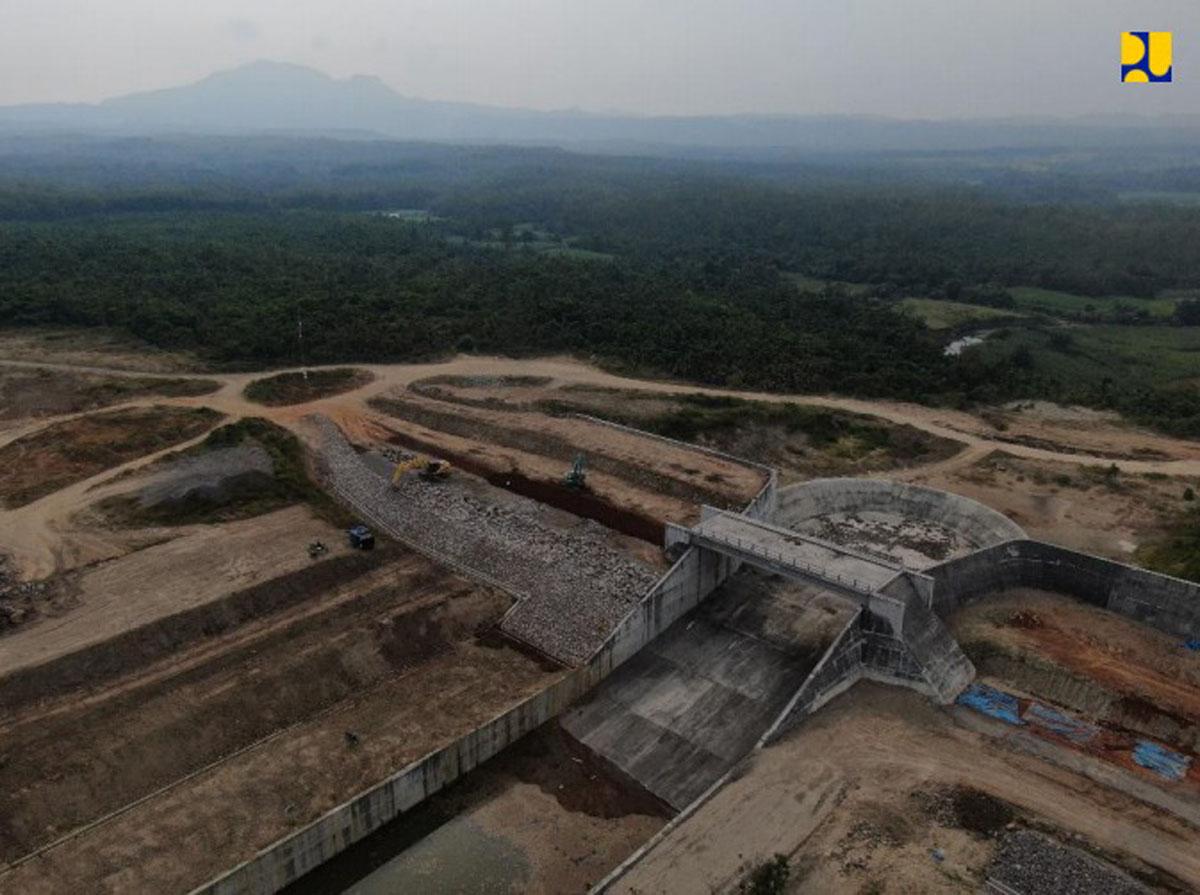 Bendungan Semantok di Kabupaten Nganjuk, Jawa Timur. (Foto: Biro Komunikasi Publik Kementerian PUPR)