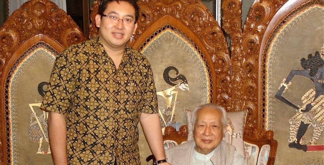 Fadli Zon mengunggah foto lawas mengenang 100 tahun kelahiran Soeharto /Moerdiono via Twitter/@fadlizon