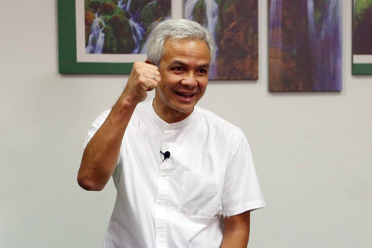 Gubernur Jawa Tengah Ganjar Pranowo. Foto: Ricardo/JPNN.com/GenPI.co