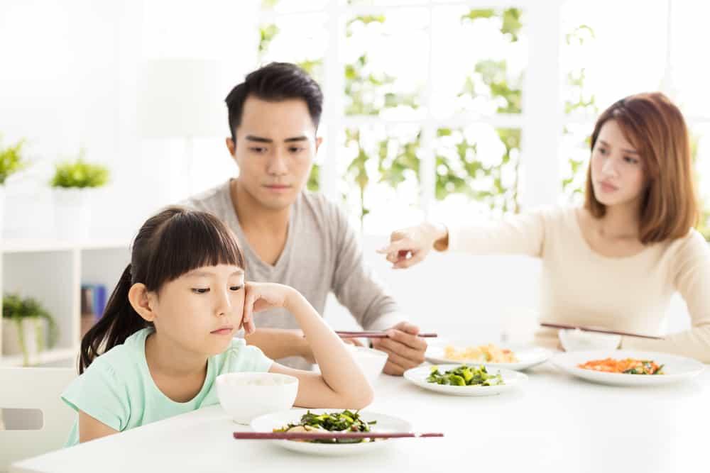 ilustrasi anak susah makan. foto: shutterstock