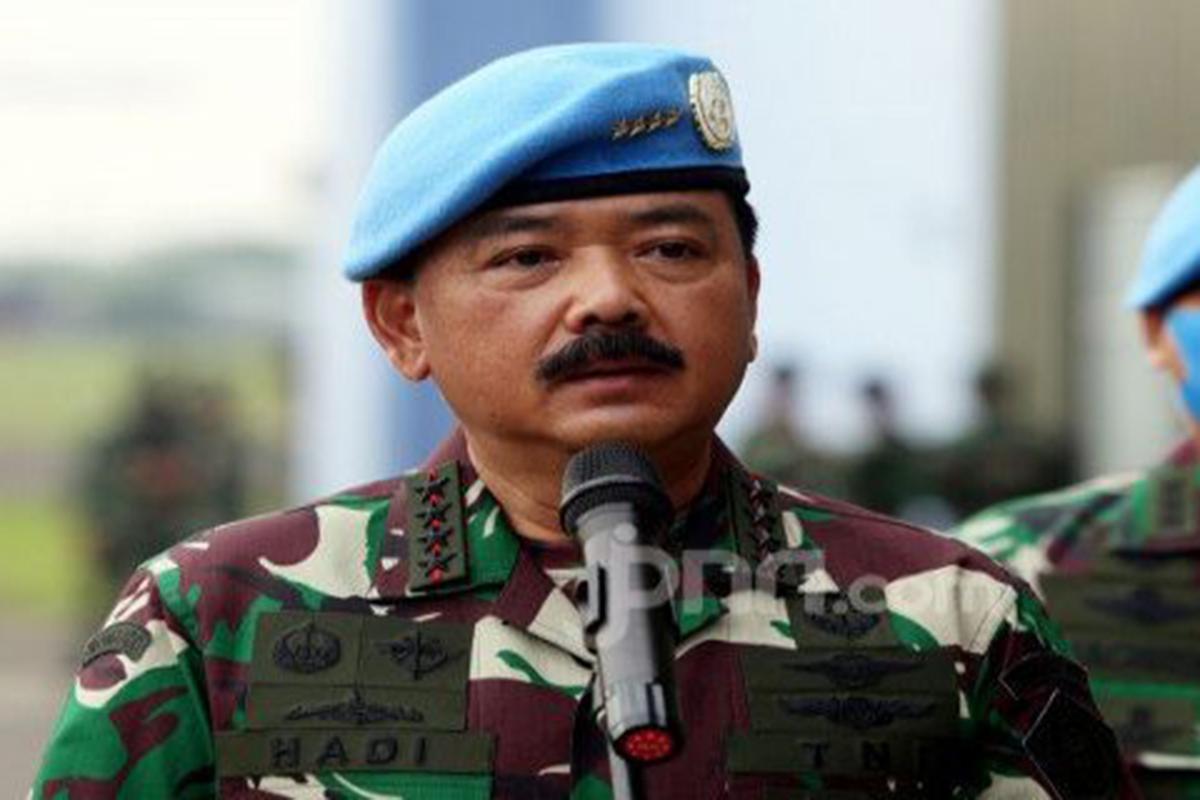 Panglima TNI Marsekal Hadi Tjahjanto. Foto: JPNN/GenPI.co