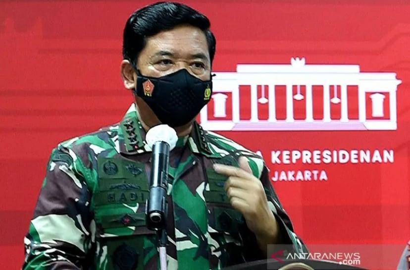 Panglima TNI Marsekal Hadi Tjahjanto. Foto : Antara