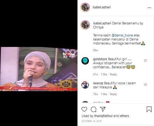 Putri Ayu Azhari Kian Saingi Pesona Bundanya