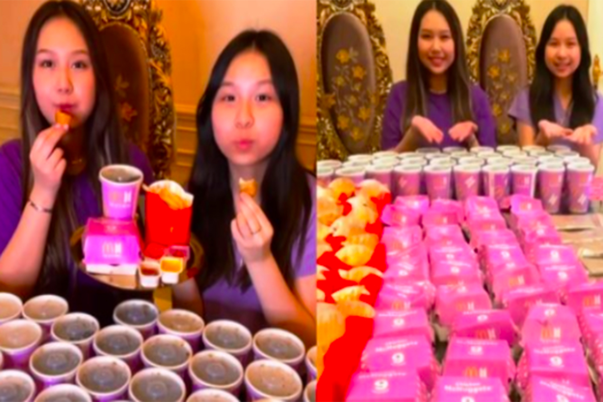 Sisca Kohl borong BTS Meal untuk dijadikan adonan es krim. Foto: Instagram @siscakohl