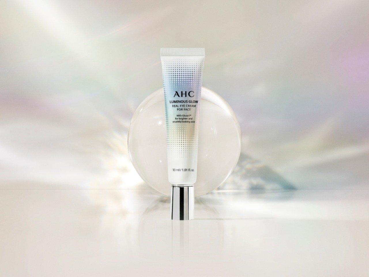 AHC Luminous Glow Real Eye Cream. Foto: PR AHC