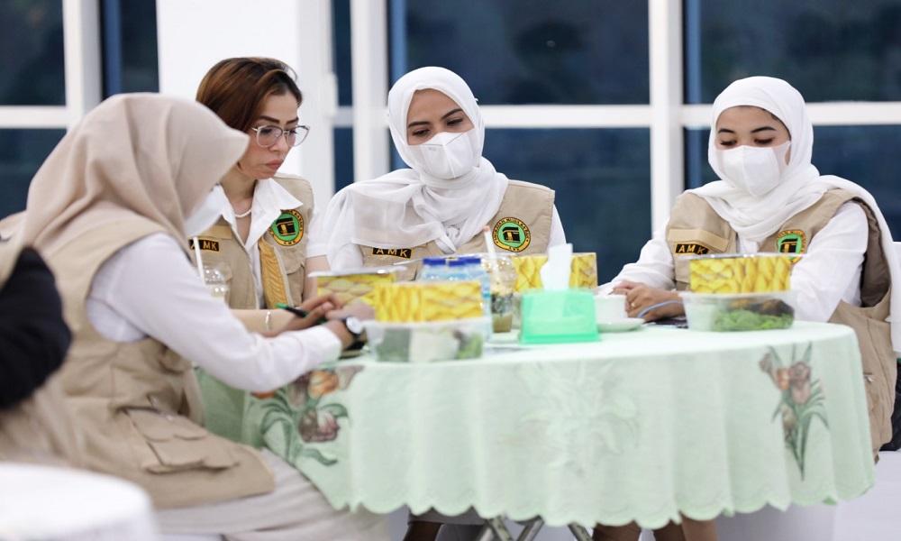 Aktivis Srikandi Angkatan Muda Kabah (AMK). FOTO: Dok AMK