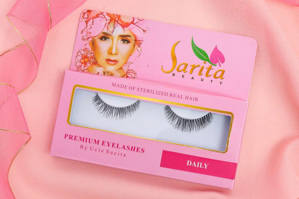 Makeup Mata Fresh Setiap Hari Pakai Eyelashes Sarita Beauty