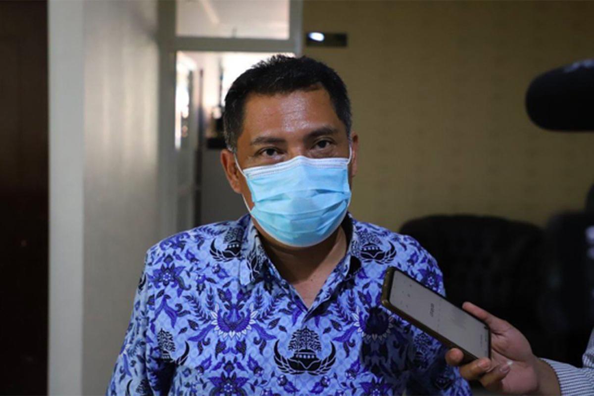 Kasatpol PP Kota Surabaya Eddy Christijanto. Foto: Humas Pemkot Surabaya
