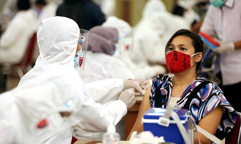Kepala Bidang Penanganan dan Pengendalian Penyakit (P2P) Dinas Kesehatan DKI memberikan kabar bahagia untuk warga di wilayah penyanggah Jakarta. (foto: Ricardo/JPNN)