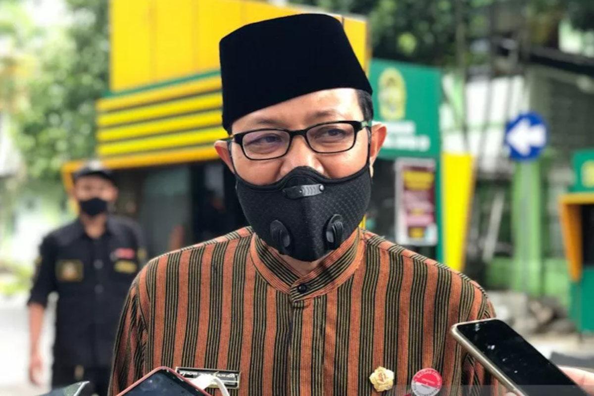 Ketua Harian Satgas Penanganan COVID-19 Yogyakarta Heroe Poerwadi. (Foto: Antara/Eka AR)