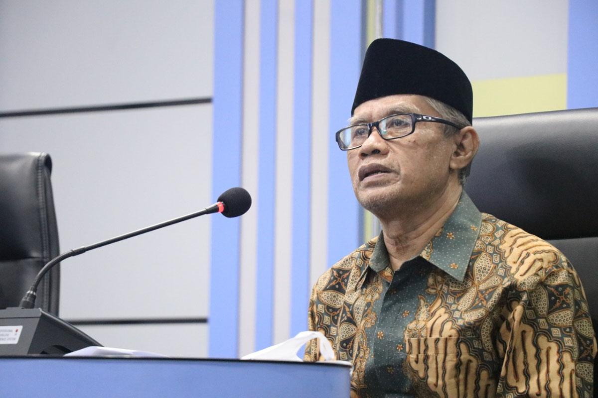 Ketua Umum PP Muhammadiyah Haedar Nashir. (Foto: Humas PP Muhammadiyah)