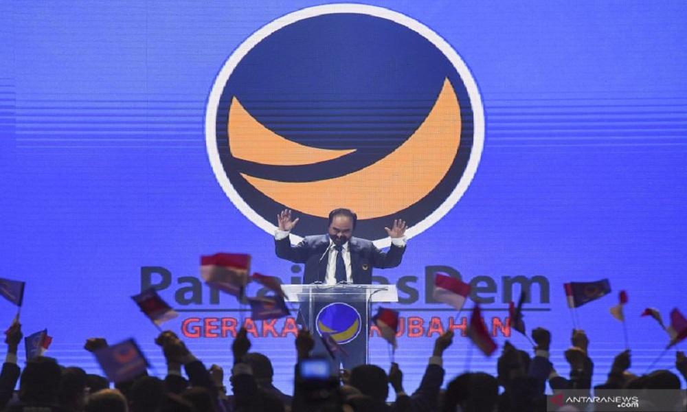 Ketum Partai NasDem Surya Paloh. FOTO: Antara