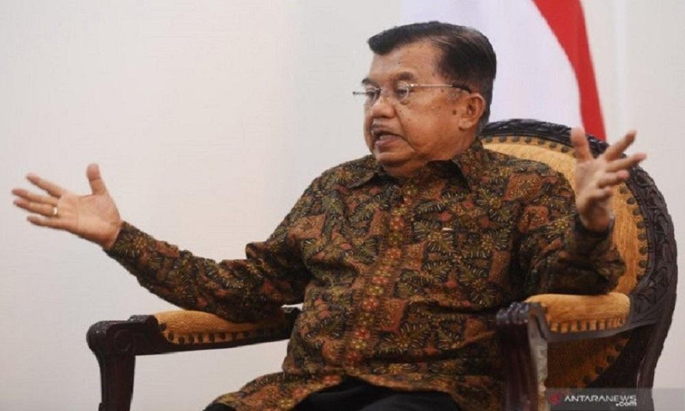Mantan Wapres Jusuf Kalla. FOTO: Antara