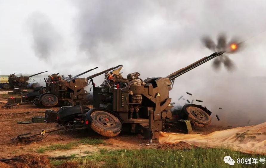 Salah satu gambar yang dirilis militer China untuk memberi peringatan terhadap Taiwan. (Foto: 80th Group Army via Newsweek)