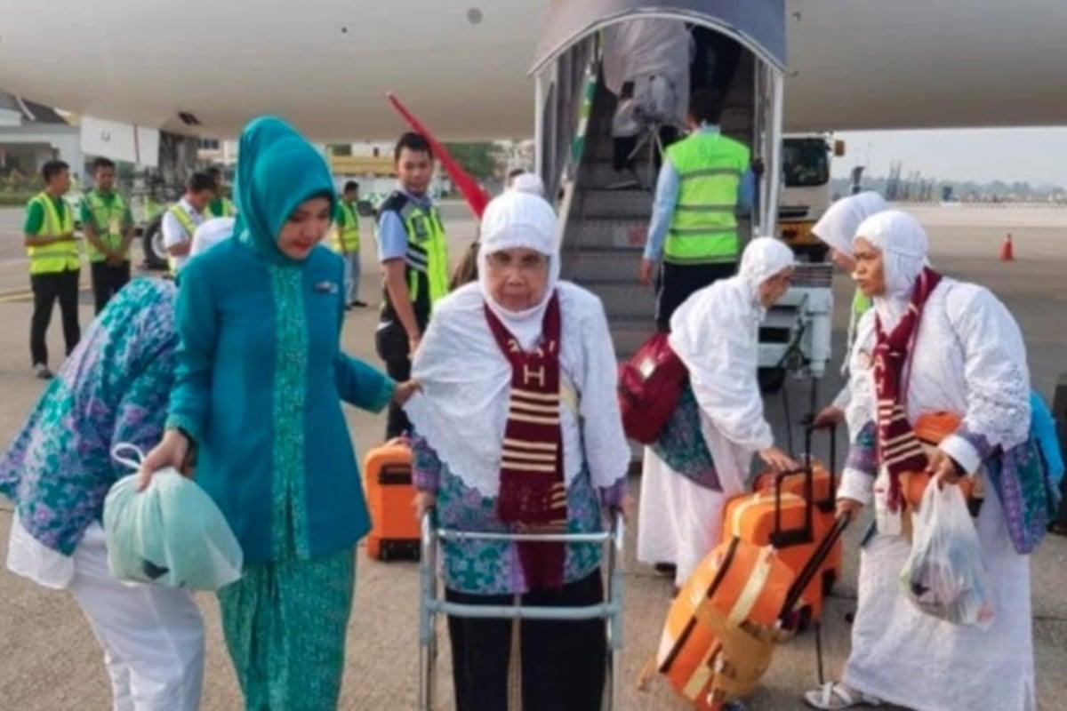 Ilustrasi jemaah haji (foto: Dok. Kemenhub)