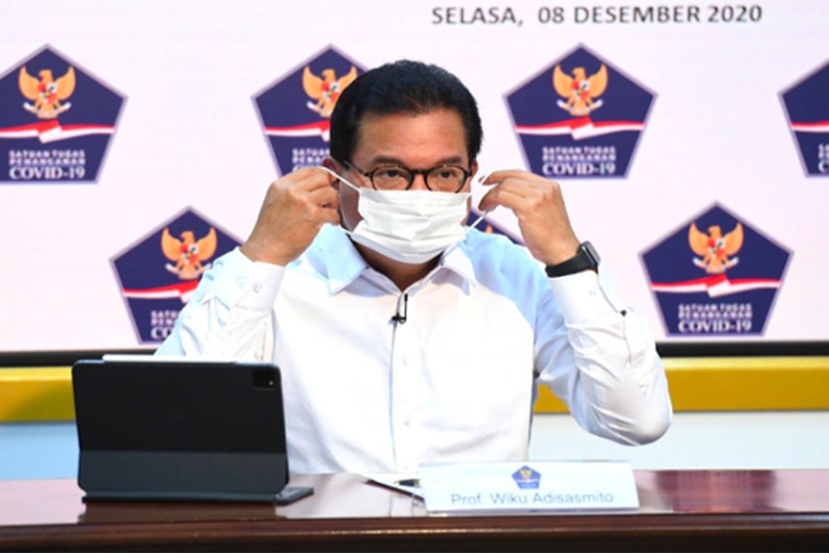 Jubir Satgas Covid Prof Wiku Adisasmito. Foto: Satgas Covid-19