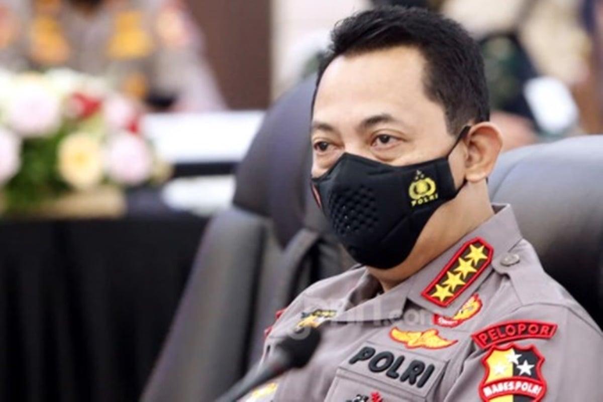 Kapolri Jenderal Listyo Sigit Prabowo (foto: Ricardo/JPNN.com)