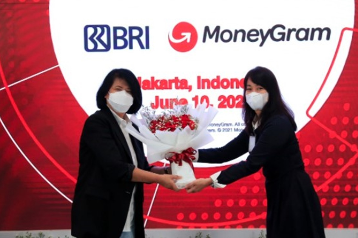 Kerja sama remitansi PT. Bank Rakyat Indonesia (Persero) Tbk dengan MoneyGram International, Inc (foto: Dok. BRI)