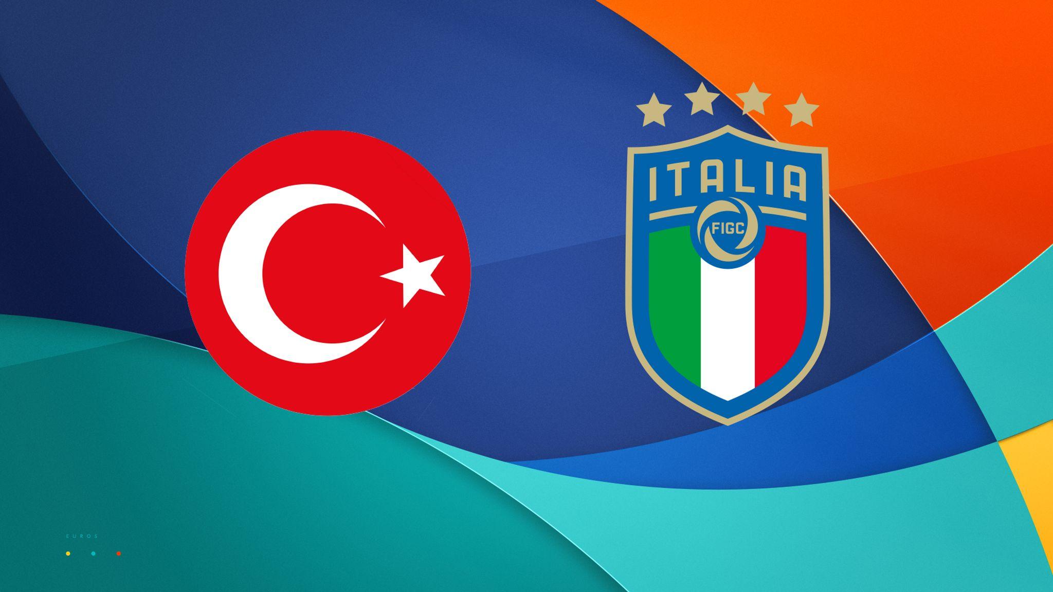 Pertandingan perdana Piala Eropa 2020 yang mempertemukan Turki vs Italia dapat disaksikan secara langsung via link live streaming berikut ini. (foto: Sky Sports)