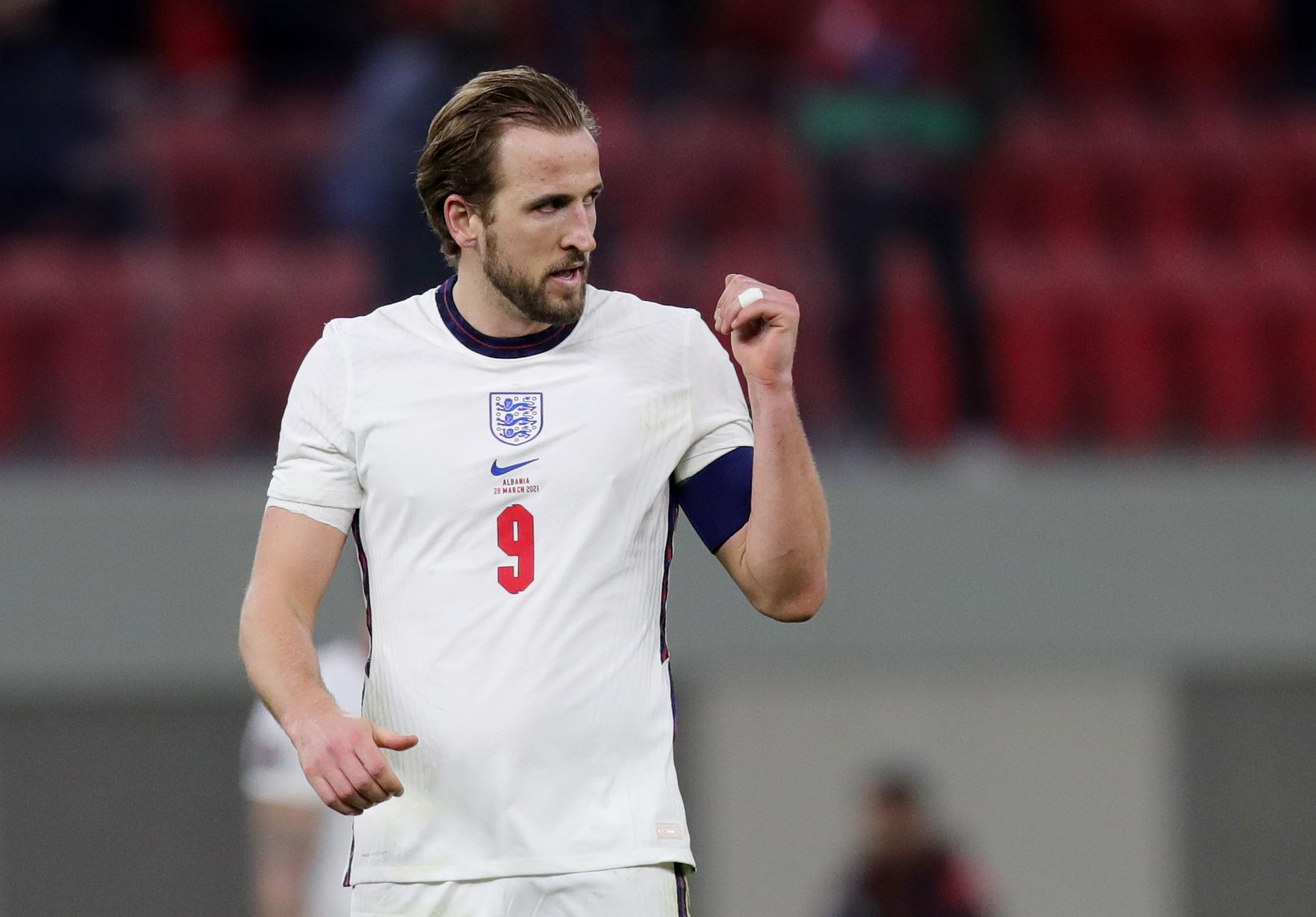 Pertandingan Piala Eropa 2020 yang mempertemukan Inggris vs Kroasia dapat disaksikan secara langsung via link live streaming berikut ini. (foto: REUTERS/Florion Goga)
