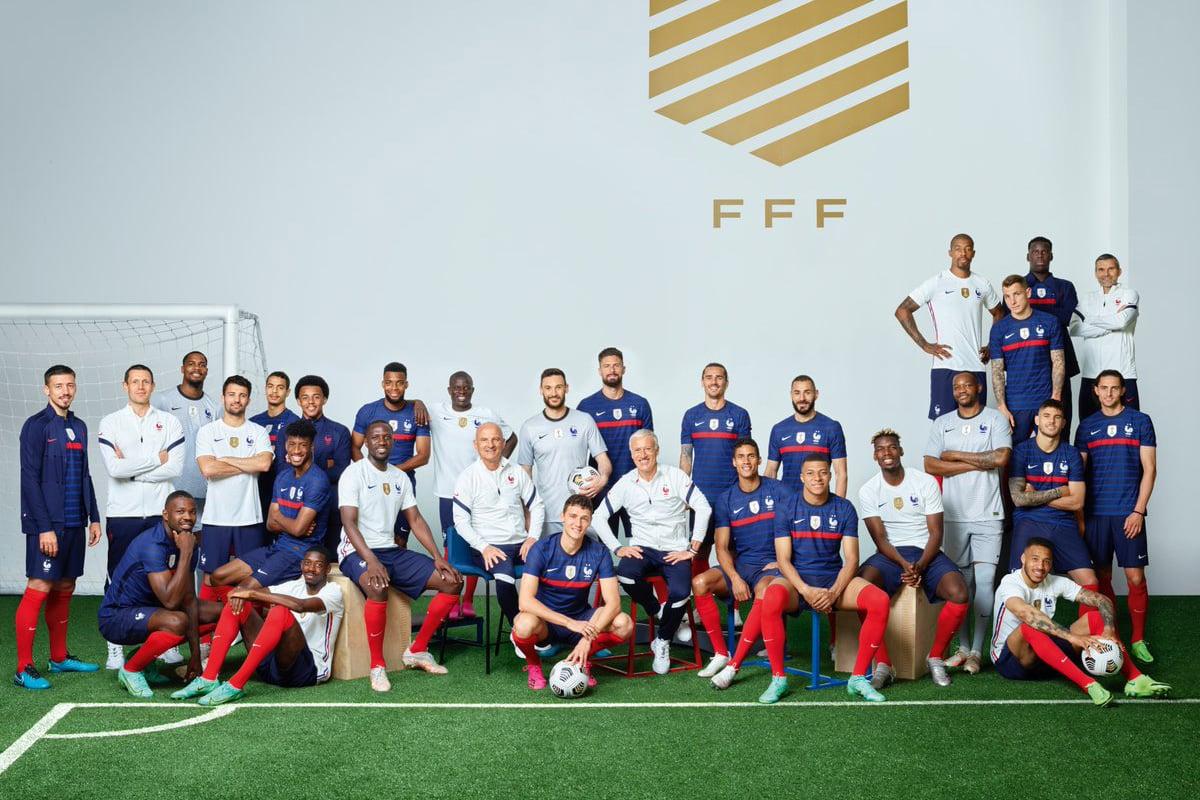 Timnas Prancis menjelang Piala Eropa 2020. Foto: Twitter/FrenchTeam
