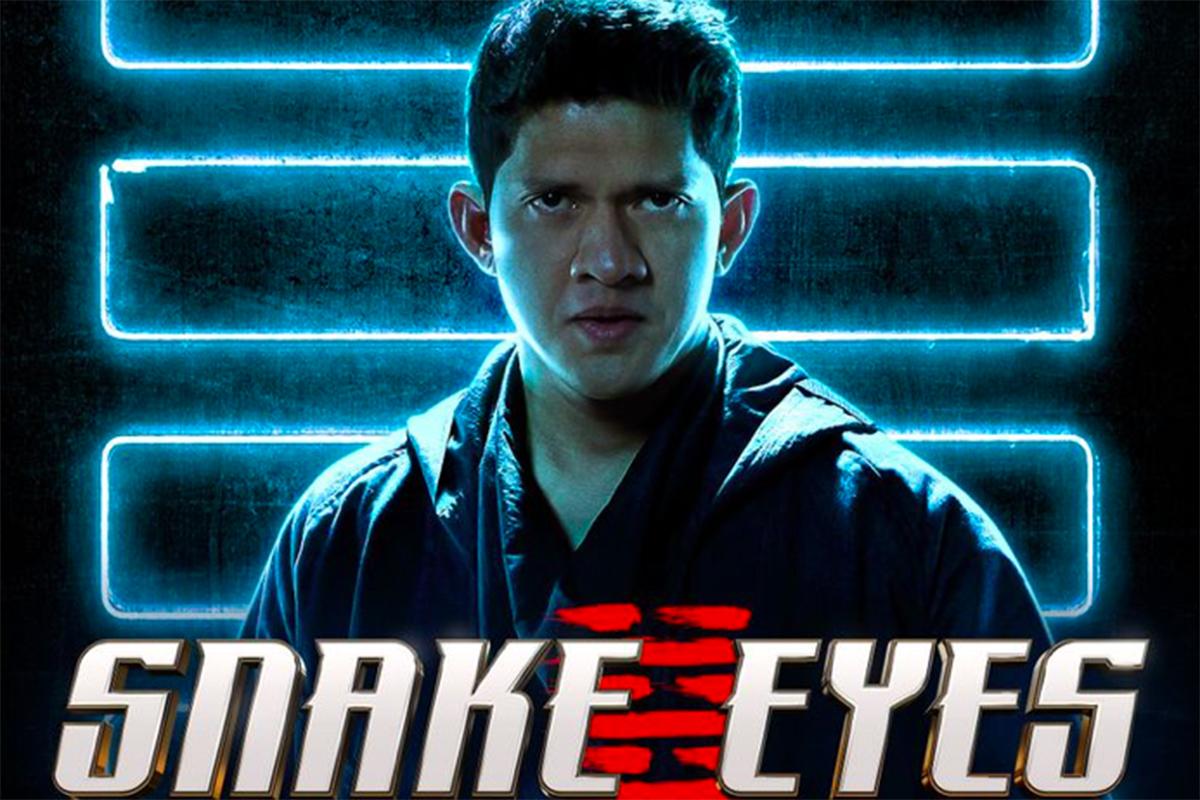 Iko Uwais, pemeran karakter Hard Master dalam film Snake Eyes. Foto: Paramount Pictures