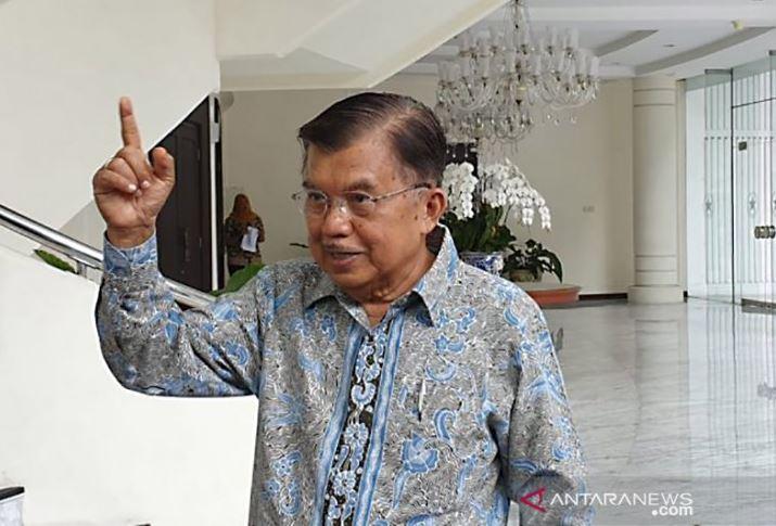 Jusuf Kalla. (Foto: Antara/Fransiska Ninditya/aa.)