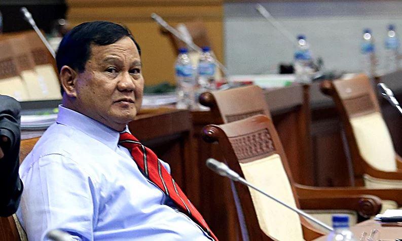 Menteri Pertahanan Prabowo. (Foto: Ricardo.JPNN)
