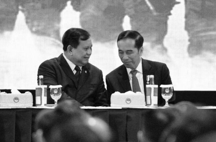 Jokowi (kanan) dan Prabowo Subianto. Foto: instagram prabowo