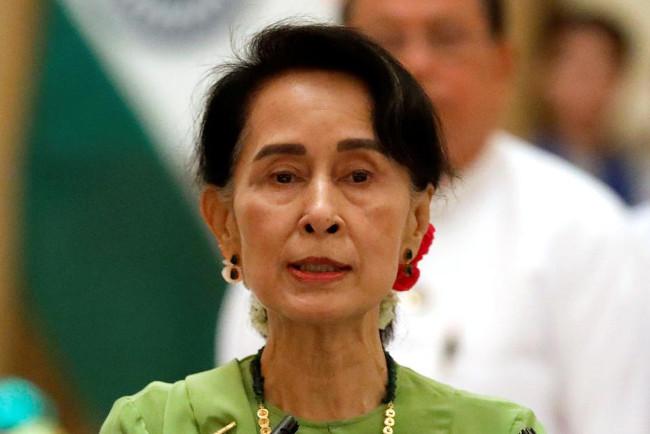 Pemimpin Myanmar, Aung San Suu Kyi. Foto: Reuters/Eva Plevier/ar.