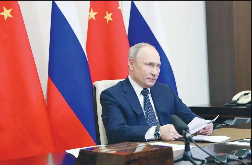 Presiden Rusia Vladimir Putin (Foto: SERGEY ILYIN/SPUTNIK/VIA REUTERS)