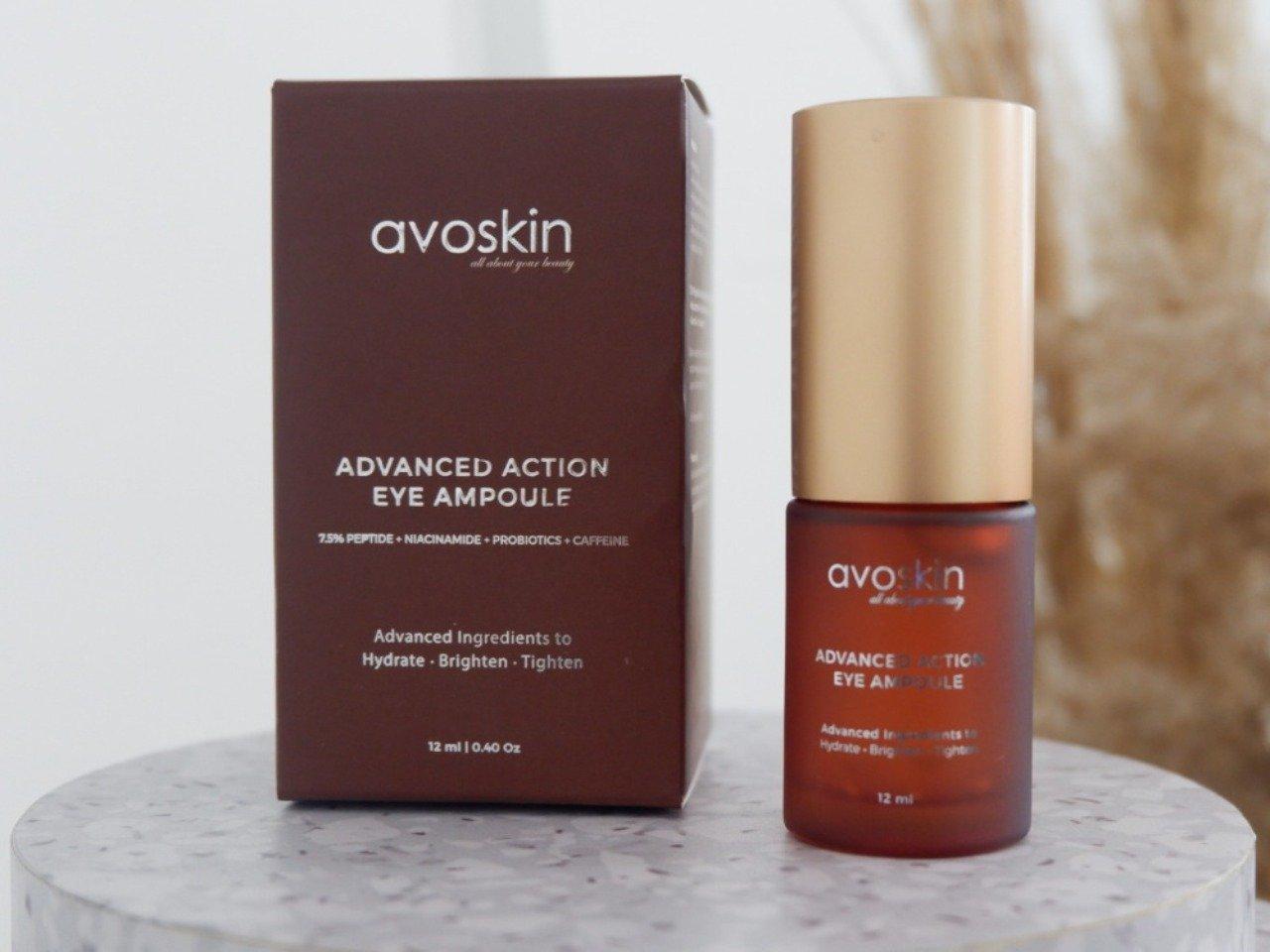 Avoskin Advanced Action Eye Ampoule. Foto: Avoskin Lazada