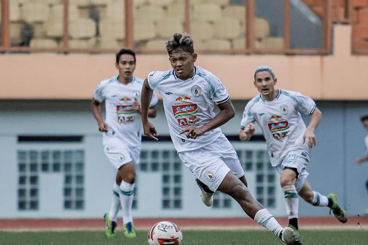 Laga uji coba PSS Sleman melawan Munial Sport grup (MSG) di Stadion Wibawa Mukti Cikarang, Selasa (15/6). (Foto: Media Officer PSS)