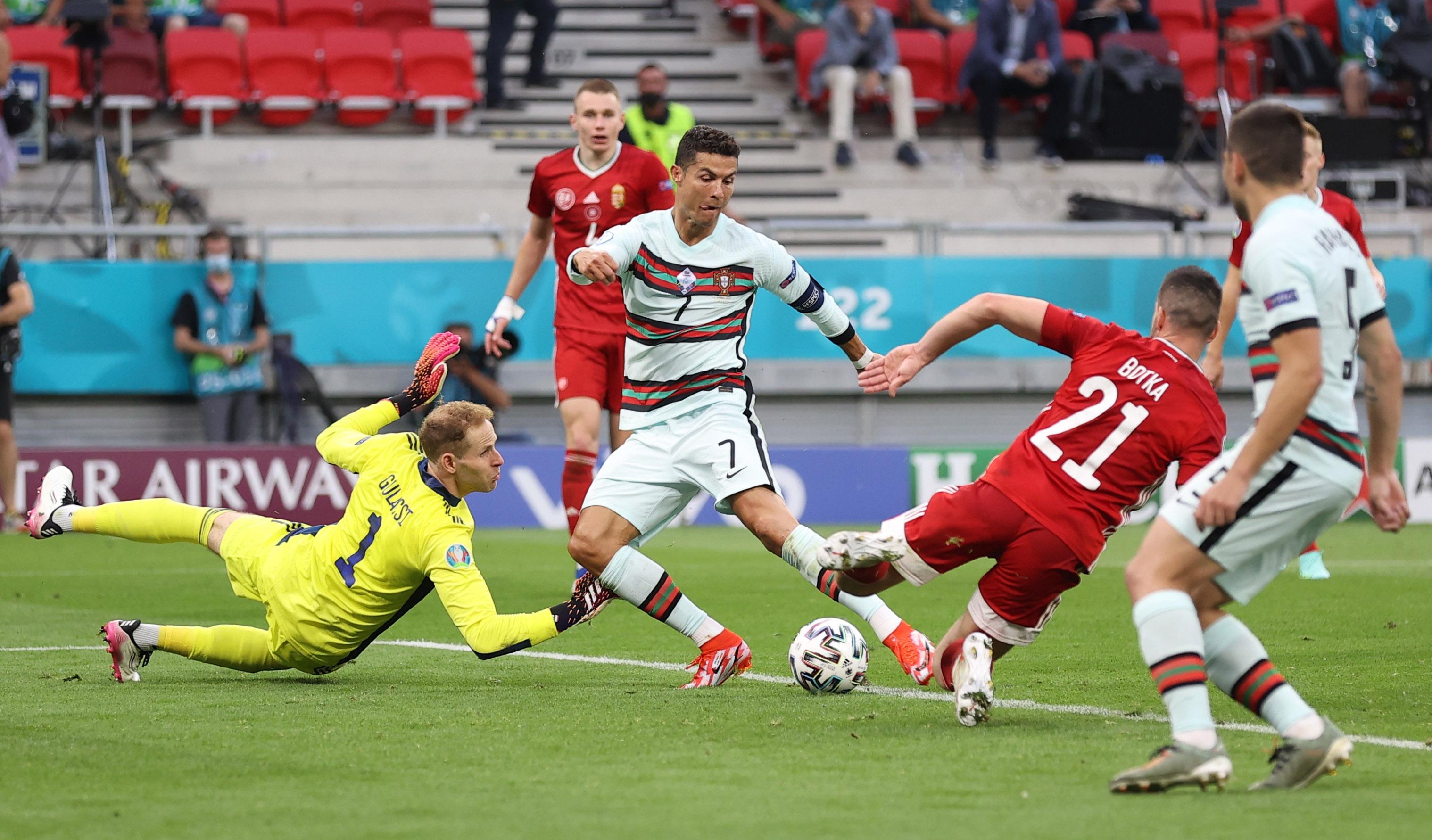 Link Live Streaming Piala Eropa 2020: Portugal vs Jerman