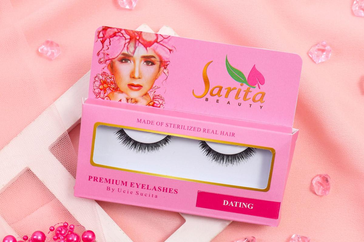 2 Varian Eyelashes Sarita Beauty Cocok untuk Makeup Harian