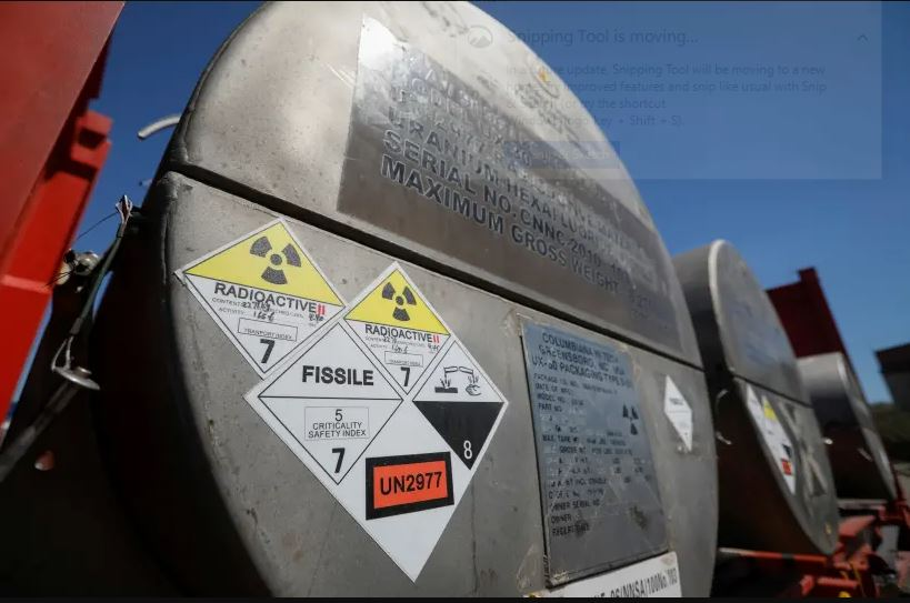 Ilustrasi fasilitar reaktor nuklir. (Foto: Shamil Zhumatov/ Reuters)