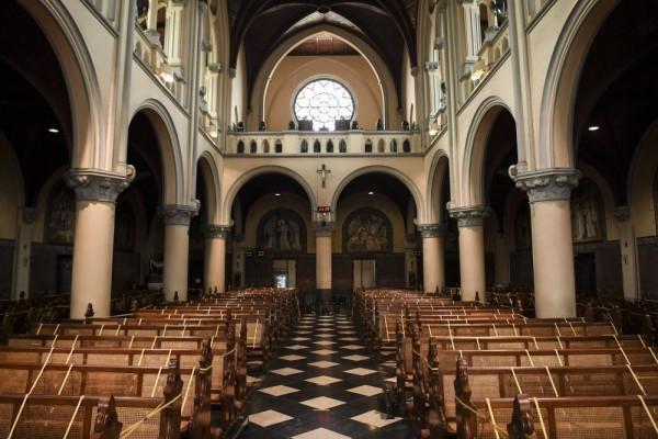 Ilustrasi gereja. Foto: ANTARA FOTO/Hafidz Mubarak A