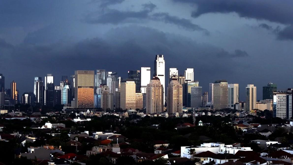 Ilustrasi kota Jakarta yang mulai terpapar covid-19. (foto: Ricardo/JPNN)
