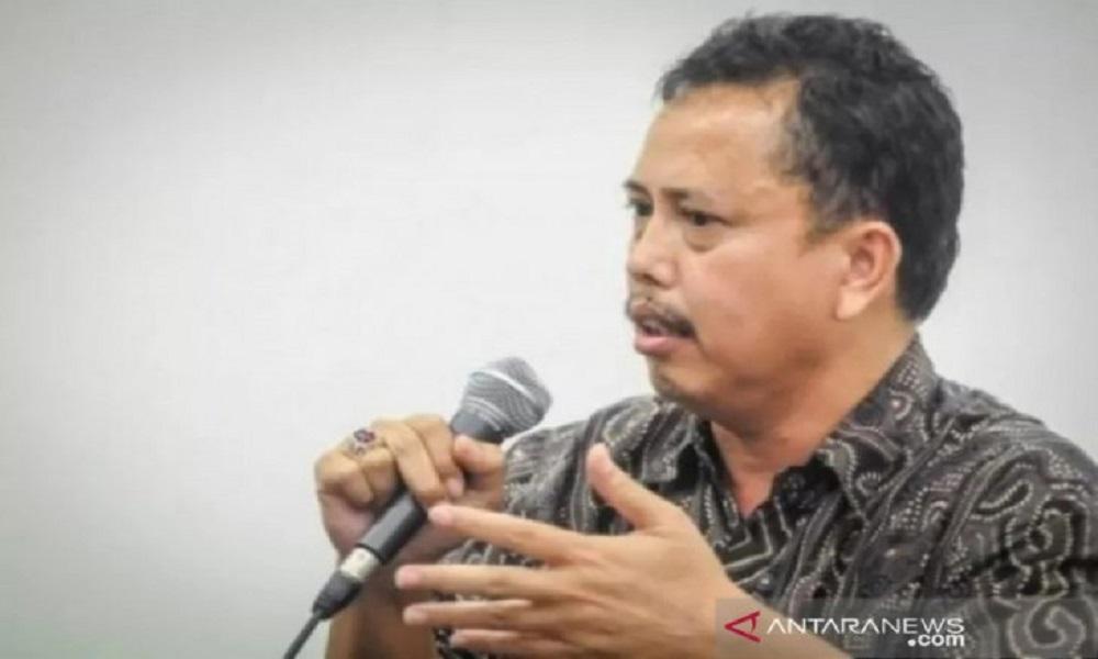 Ketua Presidium Indonesia Police Watch (IPW) Neta S Pane meninggal dunia pada Rabu (16/6) pagi. (foto: Antara)