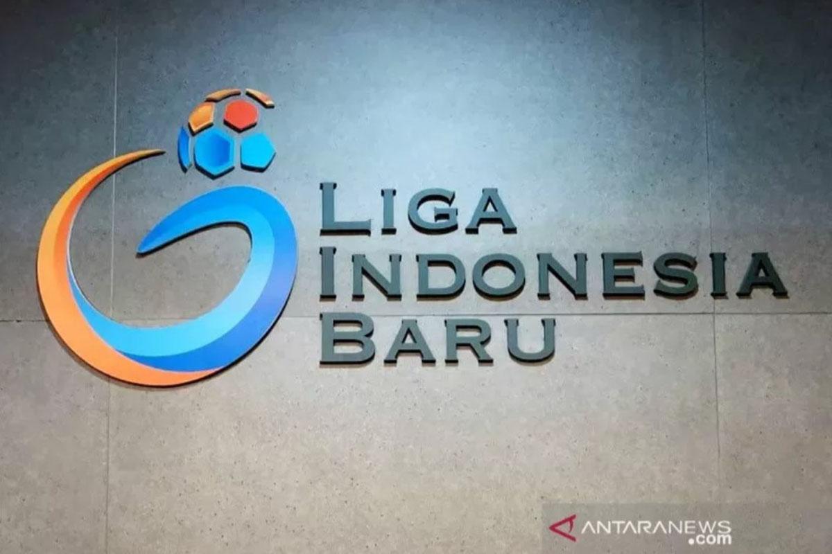 Logo operator kompetisi Liga 1, PT Liga Indonesia Baru. (ANTARA/HO-PT Liga/pri)